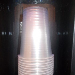100 Pack of 180ml Plastic Cups - 2