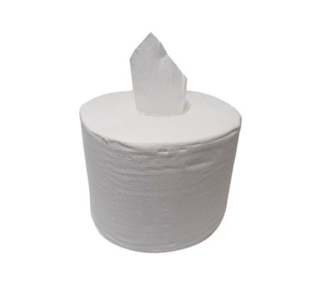 Coreless One Pull White Toilet Roll