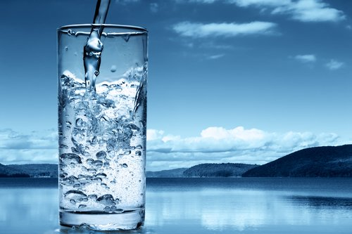 Filtered Water in Glass