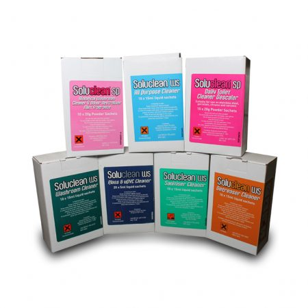 Soluclean Cleaner Sachets