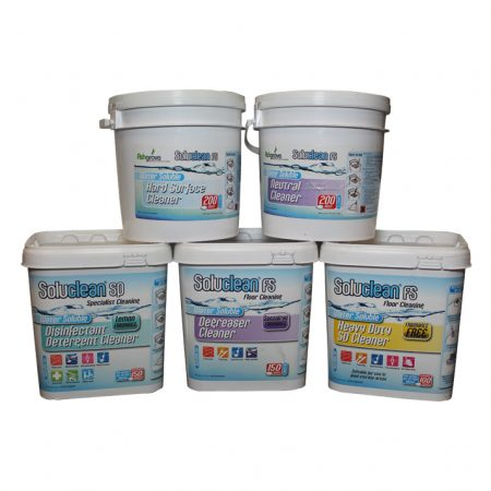 Soluclean Cleaning Tubs