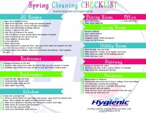 10 Spring Cleaning Tips For The Home Hygienic Concepts