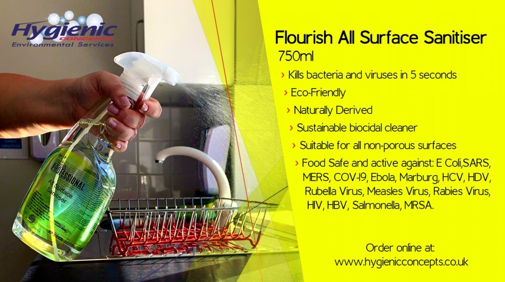 Flourish All Surface Sanitiser Product