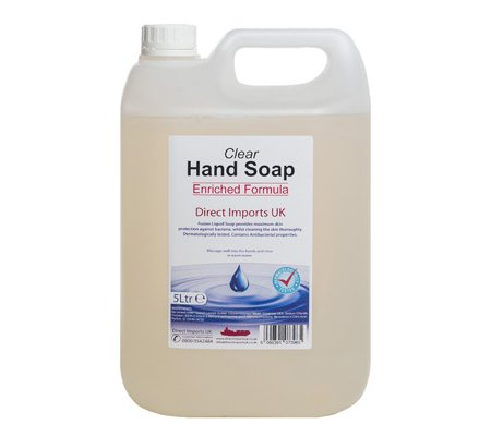 Enriched Clear Hand Soap